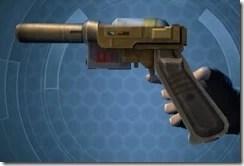 Requisitioned Targeter's Blaster Pistol MK-3 Left