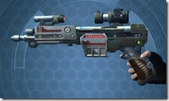 Thermal Targeter's Blaster Pistol MK-3 Left