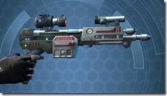Thermal Targeter's Blaster Pistol MK-3 Right