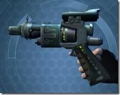 Thermal Targeter's Offhand Blaster MK-3 Left
