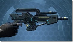 Transparisteel Permacrete Blaster Pistol Right