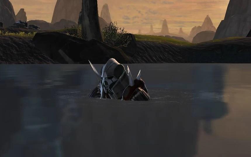 Water-kneeling