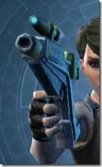 Yavin Targeter's Offhand Blaster MK-3 Front