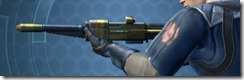 Crystalline Boltblaster's Blaster Rifle MK-3 Left