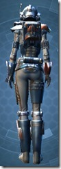 Crystalline Boltblaster's MK-3 - Female Back