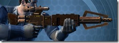 Crystalline Targeter's Blaster Rifle MK-3 Right