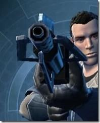 Dallorian Asylum Onslaught Blaster Rifle Front