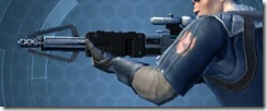 Dallorian Asylum Onslaught Blaster Rifle Left