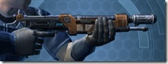 Decorated Targeter's Blaster Rifle MK-3 Right