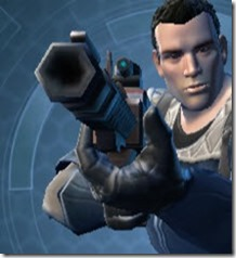 Phrik Asylum Onslaught Blaster Rifle Front