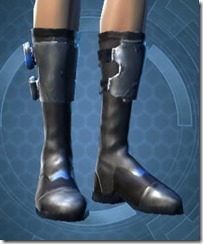 Requisitioned Boltblaster's MK-3 Boots