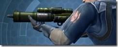 Requisitioned Targeter's Blaster Rifle MK-3 Left