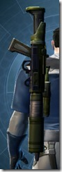 Requisitioned Targeter's Blaster Rifle MK-3 Stowed