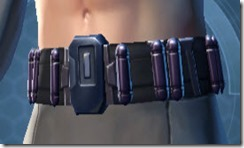 Yavin Pummeler's MK-3 Belt
