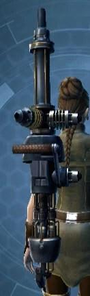 Commander's Assault Cannon Stowed