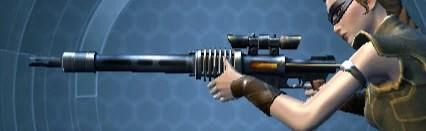 Commander's Sniper Rifle Left