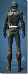 Havoc Squad Officer - Male Back