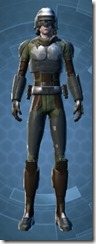Havoc Squad Officer - Male Front