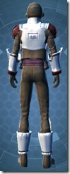 Imperial Field Agent - Male Back