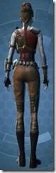 Resistance Fighter - Female Back