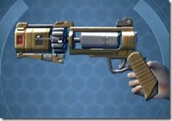 HK-55s Blaster Pistol Left