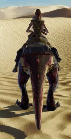 Terrowclaw Raptor Back
