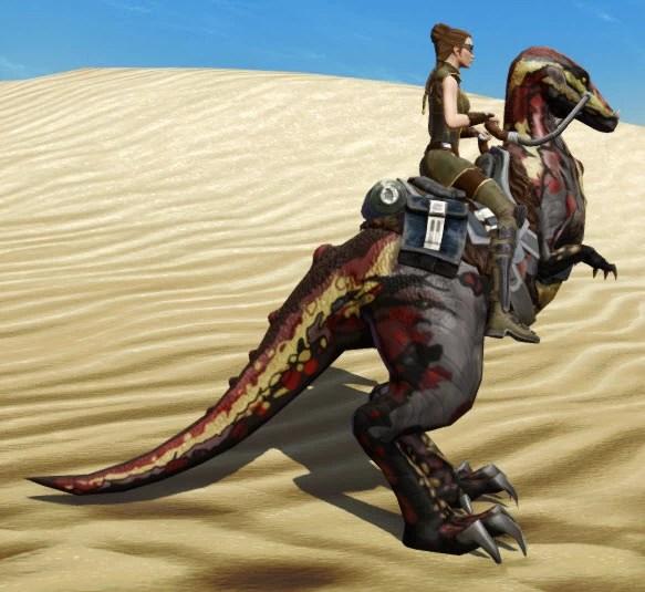 Terrowclaw Raptor Side