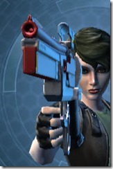 Odessen Blaster Pistol Front