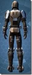 Outlander Soldier - Male Back