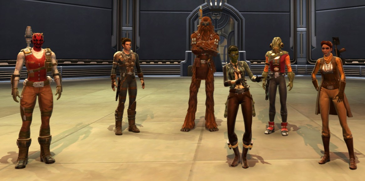 Smuggler-Crew
