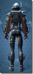 Commander Vizla - Male Back