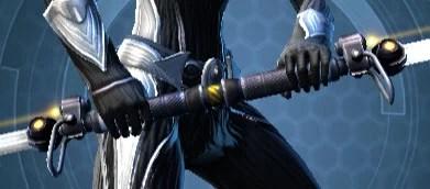 Savage Raider's Dual-Edged Vibrosword Front