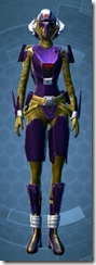 Vile Hunter Dyed Front