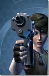 Defiant Technographer's Blaster Front
