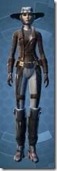 Outer Rim Gunslinger - Female Front
