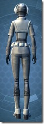 Unshakable Trooper - Female Back