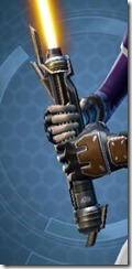 Eternal Champion's Lightsaber Front