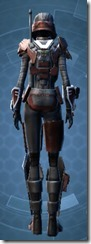 Crimson Raider - Female Back