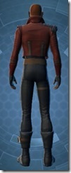 Secret Agent - Male Back