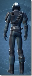 Security Soldier - Male Back