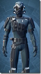 Security Soldier - Male Close