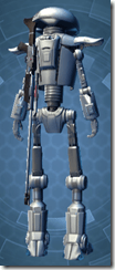 Selkath Droid HK Back