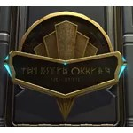Sign: City of Zakuul (Gold)