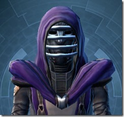 Crystalline Force-Lord's MK-3 Doesn't Hide Hood