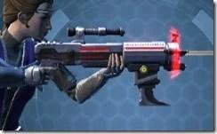 Dread Enforcer's Blaster Rifle Right