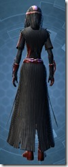 Dread Harbinger - Female Back