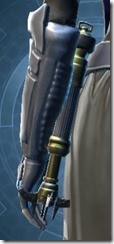 Dread Mystic's Lightsaber Stowed