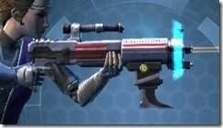 Rughteous Enforcer's Blaster Rifle Right