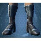Zeyd-Cloth Boots (Imp)
