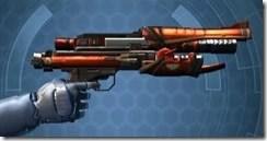 Eternal Commander MK-4 Blaster Pistol Right
